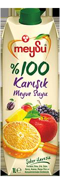 %100 Karışık Meyve Suyu