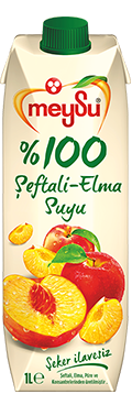 %100  Şeftali ve Elma Suyu